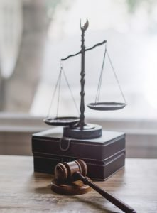 scales of justice in divorce court